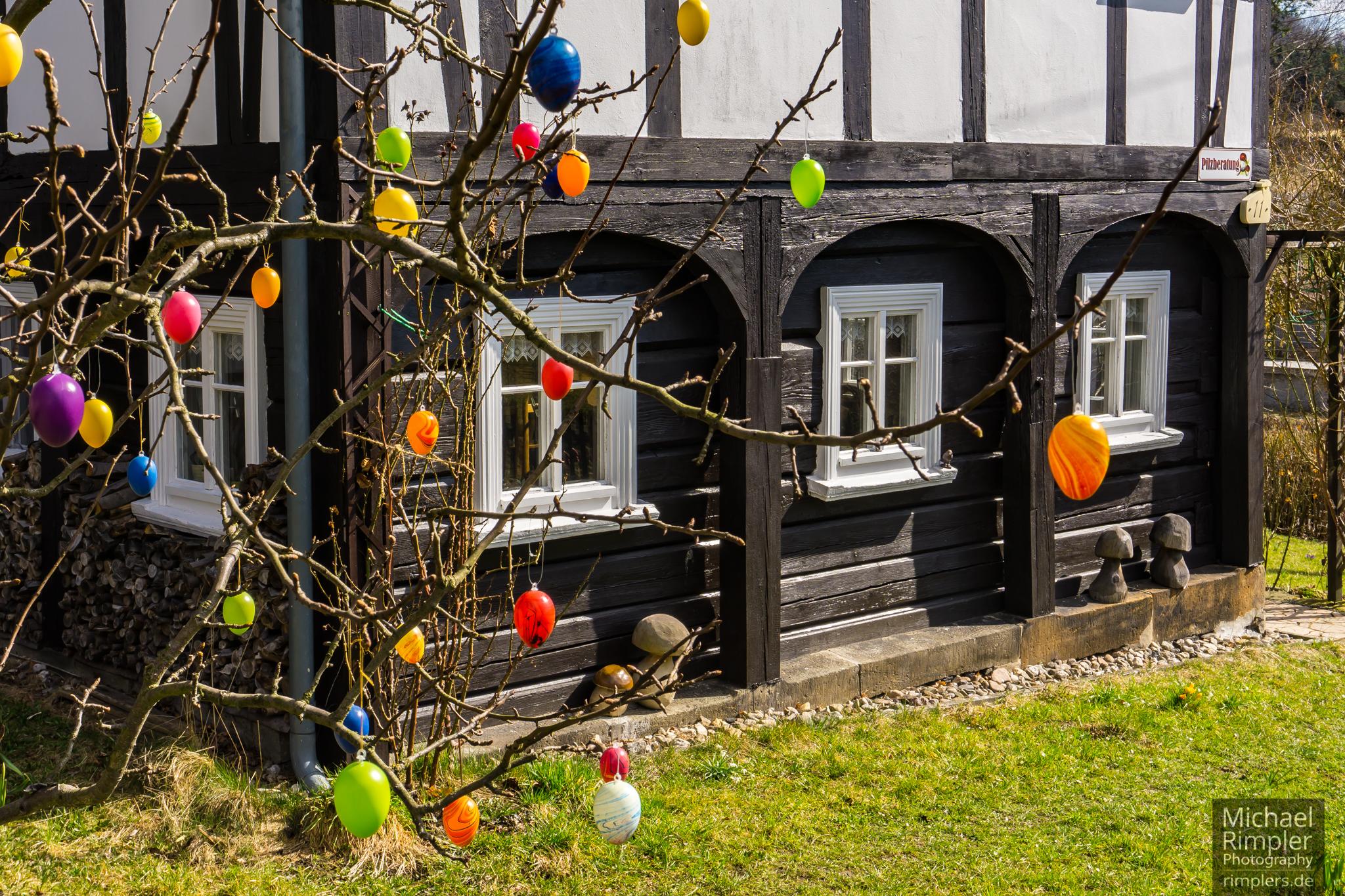 Ostern im Textildorf Großschönau