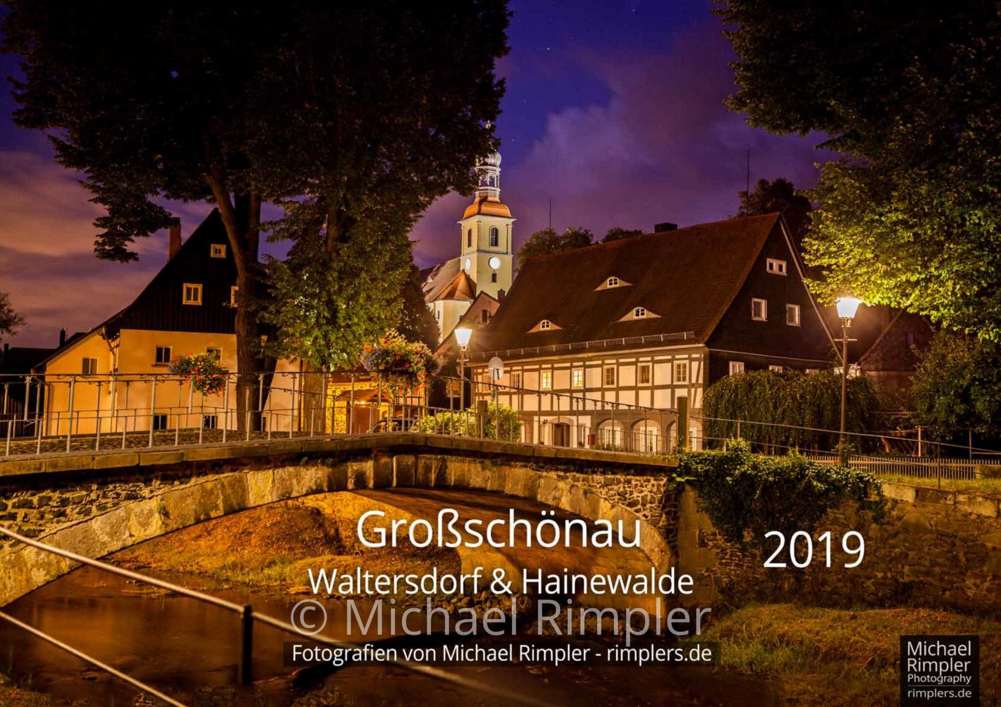 Kalender 2019 – Großschönau, Waltersdorf & Hainewalde