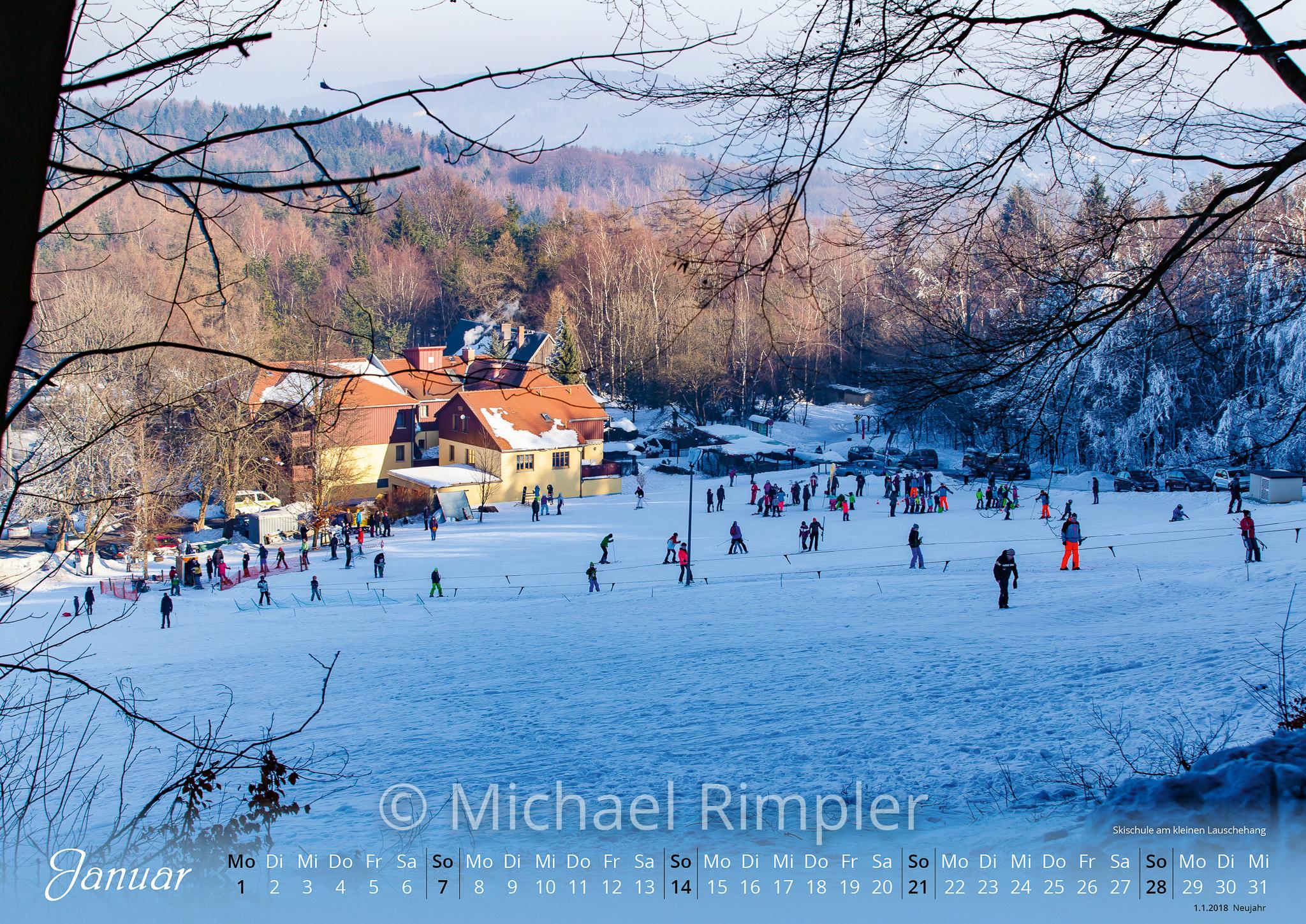 großschönau, textildorf, waltersdorf, hainewalde, kalender, oberlausitz, lausche, skihang, rübezahlbaude, skischule