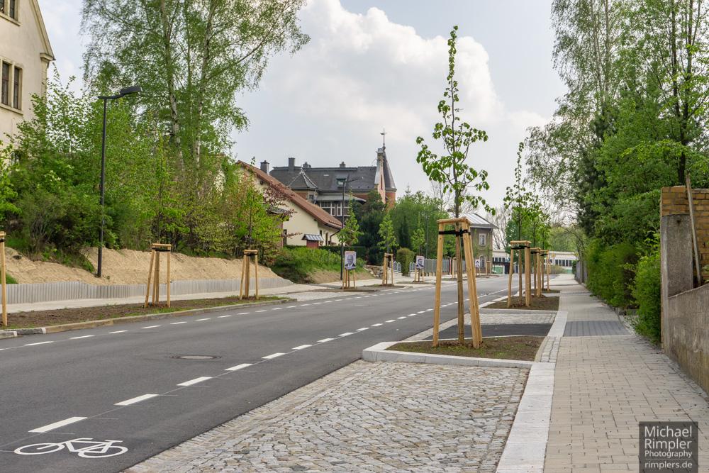 großschönau, bahnhof, bahnhofstraße, öpnv, neue straße, textildorf