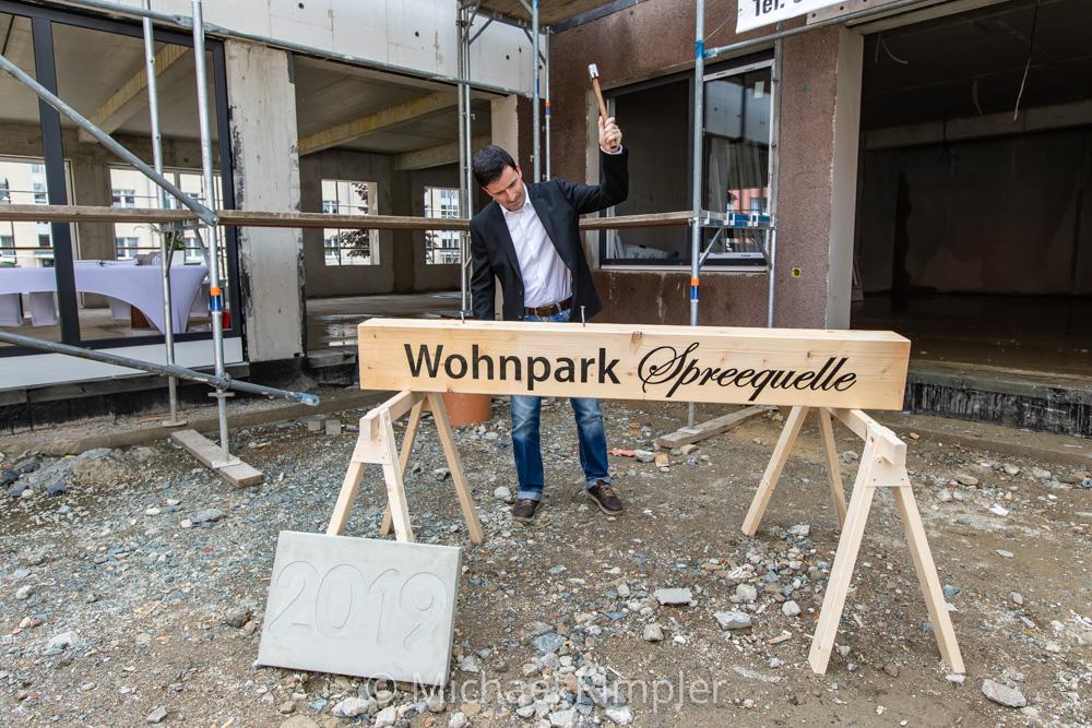 wohnpark, spreequelle, ebersbach, neugersdorf, richtfest, oberland, oberlausitz, fotos, bilder,
