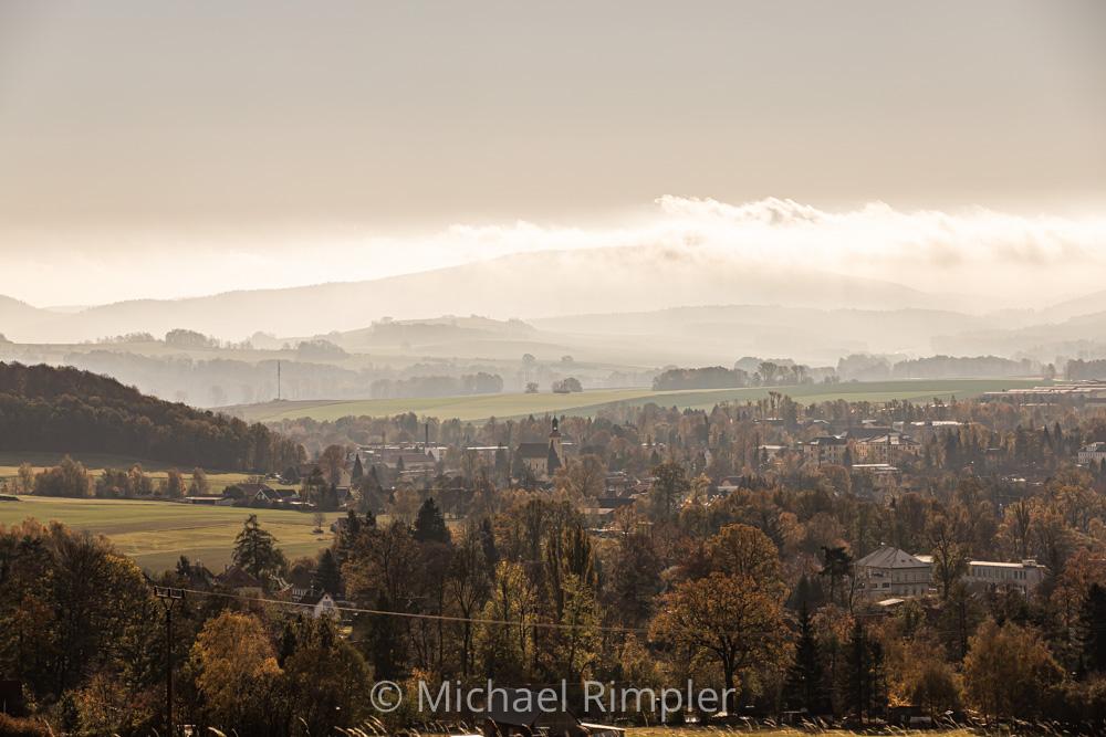 großschönau, nebel, jonsberg, herbst, naturpark, zittauergebirge, oberlausitz, sachsen, bilder, fotos,