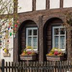 ostern, ostereier, umgebindehaus, waltersdorf, frühling, naturpark, zittauergebirge, oberlausitz, fotos, bilder