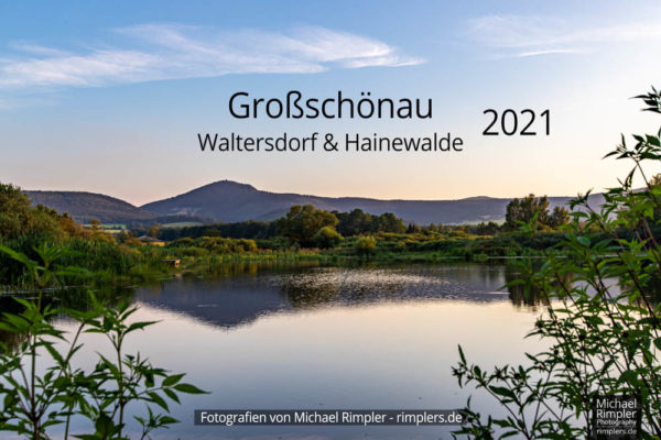 kalender 2021, großschönau, textildorf, waltersdorf, hainewalde, goldfabiansteich, naturpark, zittauergebirge, oberlausitz, fotos, bilder