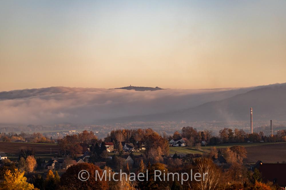 windmühle, seifhennersdorf, nebel, hochwald, herbst, naturpark zittauergebirge, oberlausitz, fotos, bilder