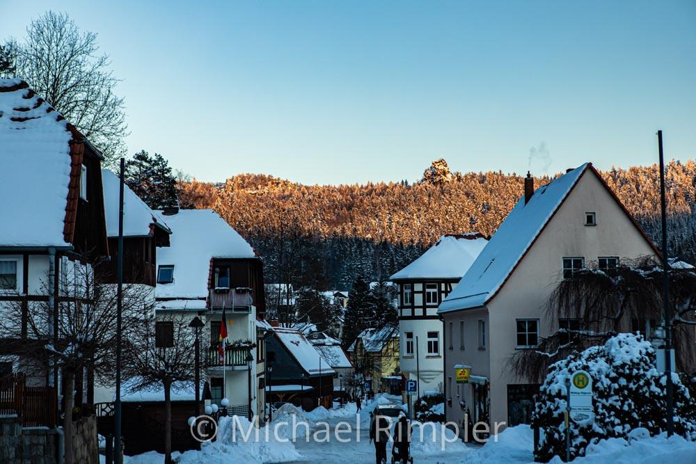 oybin, scharfenstein, winter, schnee, naturpark zittauergebirge, oberlausitz, fotos, bilder