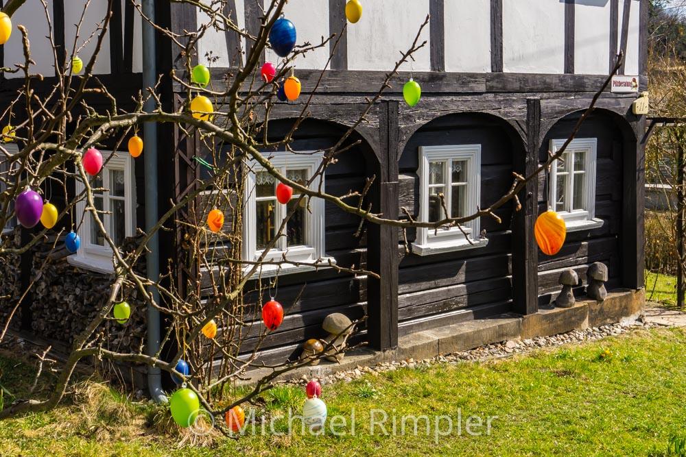 umgebindehaus, hainewalde, großschönau, textildorf, naturpark, zittauergebirge, oberlausitz, fotos, bilder