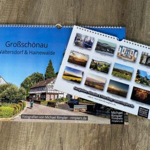 kalender 2022, großschönau, textildorf, waltersdorf, hainewalde, naturpark, zittauergebirge, oberlausitz, fotos, bilder